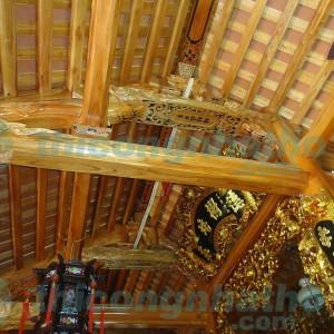 Nhà Thờ Gỗ 3 Gian ở Làng Nghề Thượng Mạo, Phú Lương, Hà Đông, Hà Nội