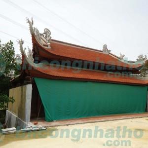 Nhà Thờ Gỗ Căm Xe 8 Mái đao Chồng Diêm ở Hà Tĩnh