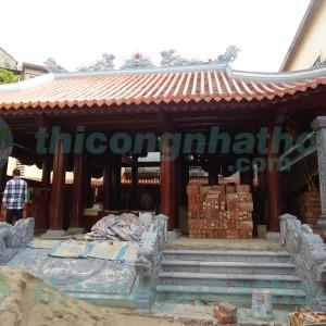 Nhà Thờ Gỗ Căm Xe 4 Mái đao Có Hậu Cung ở Vinh – Nghệ An