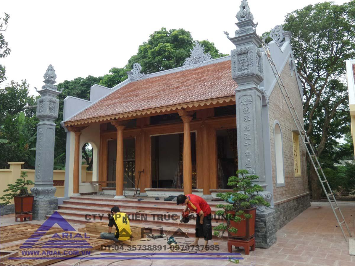 Lắp Cửa Bức Bàn Hoàn Thành Bàn Giao Công Trình Nhà Từ đường ở Duy Tiên – Hà Nam