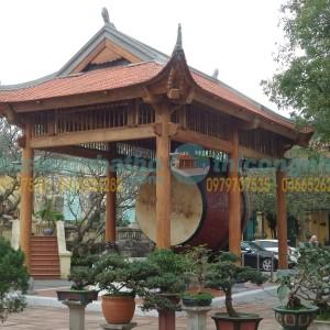 Hoàn Thành Lầu Gỗ Cụ Rùa ở Hoàng Thành Thăng Long Hà Nội