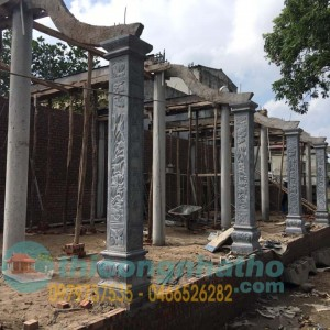 Thi Công Xây Dựng Nhà Khách 7 Gian đình Ích Vịnh – Vĩnh Quỳnh- Hà Nội