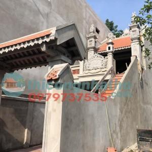 12. Lót Ngói Màn Trên Rui, Nét Mới ở Công Trình Nhà Thờ 2 Tầng Văn Bình Thường Tín Hà Nội