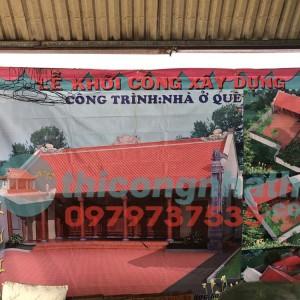 21. Khởi Công Xây Dựng Nhà ở Quê 5 Gian 2 Mái ở Xuân Giang , Sóc Sơn, Hà Nội