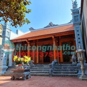 20. Bàn Giao Hoàn Thành Nhà Thờ 3 Gian ở Vĩnh Ninh Vĩnh Lộc Thanh Hóa