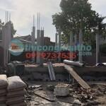 24. Đổ Cột Xây Tường Làm Cấu Kiện Nhà Thờ 3 Gian ở Văn Lâm, Hưng Yên