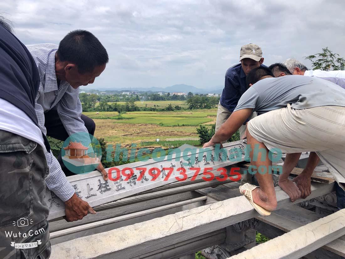 23. Cất Nóc Thượng Lương Nhà Thờ 2 Tầng 4 Mái ở Vĩnh Quang, TP Cao Bằng